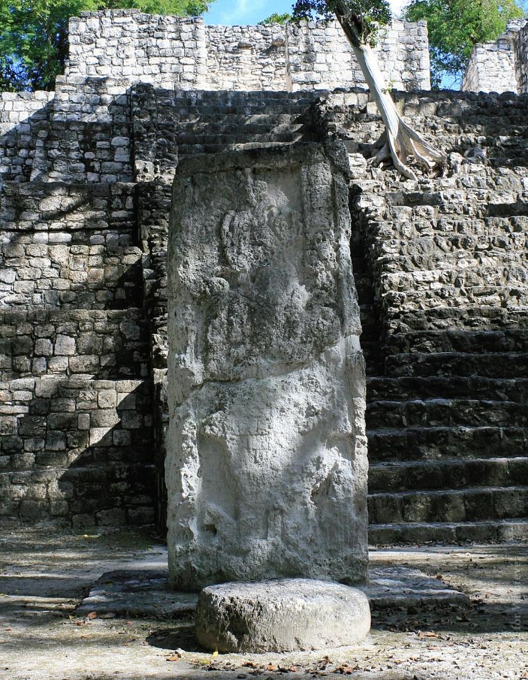 calakmul-stela
